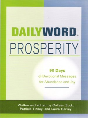cover image of Daily Word Prosperity
